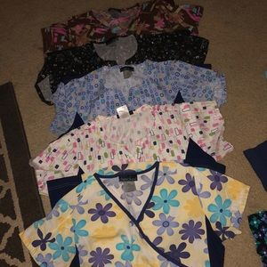 Cherokee Fitted scrub tops